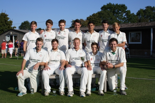 Frocester CC, 2014 Gloucestershire County Cup winners