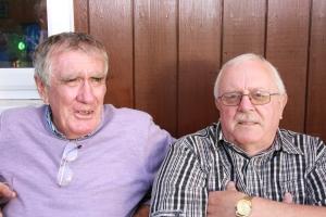 Eric Bird and Jim Clarkson